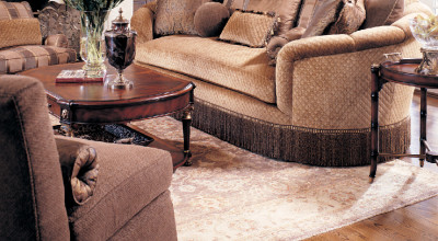 Luxury living room furniture in The Woodlands, TX